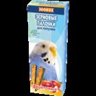 """Зооник 2 шт./Зерновые палочки для волнистых попугаев """"Фруктовые"""""""