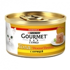 Gourmet Gold 85 гр./Гурме Голд Нежные начинка курица