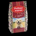 Родные Корма 16,38 кг./ Сухой корм для взрослых собак всех пород