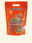 PrettyCat 6 л./Наполнитель древесный с морковными чипсами для грызунов и птиц