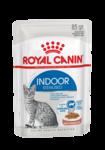 Royal Canin Indoor Sterilized 85 гр./Роял канин Корм консервированный полнорационный для взрослых кошек (в возрасте от 1 года до 7 лет), постоянно живущих в помещении, кусочки в соусе