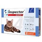 Inspector Quadro К Капли на холку для кошек от 1кг до 4 кг
