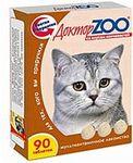 Доктор ЗОО//витамины для кошек со вкусом копченостей 90 таб.
