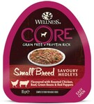 CORE SMALL BREED85 гр./ Консервы из курицы с говядиной, зеленой фасолью и красным перцем для собак мелких пород