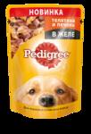 Pedigree 100 гр./Педигри консервы в фольге для собак телятина с печенью в желе