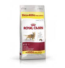 Royal Canin Fit 2 кг.+400 гр./Роял канин сухой корм для кошек бывающих на улице