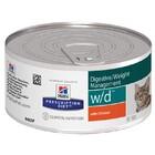 Hills Prescription Diet w/d 156 гр./Хиллс консервы для кошек для оптимального веса, при сахарном диабете с курицей