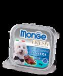 Monge Dog Fresh 100 гр./Монж консервы для собак Нежный паштет из утки