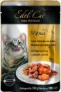 EdelKat 100 гр./Эдель Кет консервы в фольге для кошек курица и утка