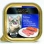EdelKat 100 гр./Эдель Кет консервы для кошек нежный паштет лосось и форель