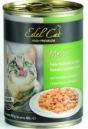 EdelKat 400 гр./Эдель Кет консервы  для кошек  индейка с печень