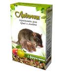 Любимчик 400 гр./Корм для декоративных крыс и мышей с фруктами 400 гр.