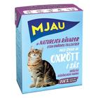 Mjau 380 гр./Мяу Консервы для кошек мясные кусочки в соусе с говядиной
