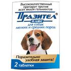 Празител Плюс/Таблетки для собак мелких и средних пород 2 таб.