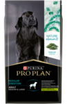Purina Pro Plan Naturel Elements Medium&Large 10 кг./Проплан сухой корм  для взрослых собак  с ягненком и спирулиной для взрослых собак средних и крупных пород.