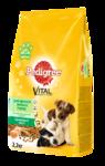 Pedigree Vital Protection 2,2 кг./Педигри сухой корм для щенков мелких пород с курицей