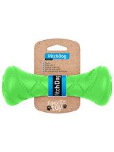 PitchDog Игровая гантель для апортировки, длина 19 см, диаметр 7 см, салатовая (31004)