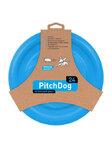 PitchDog летающий диск d 24 см, голубой (31008