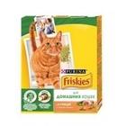 Friskies Indoor 300 гр./Фрискис сухой корм для домашних кошек с курицей, садовой травой