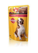 Pedigree 100 гр./Педигри консервы в фольге для собак с говядиной