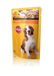 Pedigree 100 гр./Педигри консервы в фольге для собак с курицей