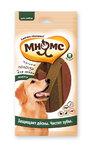 Мнямс 120 гр./12*10 гр./ Мясные полоски для собак Профилактическое лакомство для полости рта. Ассорти