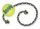"""Kong/ Игрушка для собак Air """"Теннисный мяч"""" с канатом средний"""