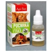 Росинка//лосьон для глаз с экстрактами лекарственных трав для собак и кошек 15 мл