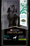Purina Pro Plan Naturel Elements Medium&Large 2 кг./Проплан сухой корм  для взрослых собак  с ягненком и спирулиной для взрослых собак средних и крупных пород.