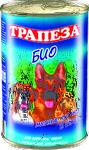 Трапеза Био//консервы для собак 1240 г