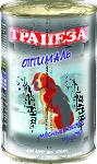 Трапеза Оптималь//консервы для собак 1240 г