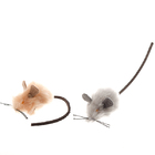 Зооник 164148/Игрушка для кошек мышь меховая 10 шт
