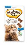 Мнямс 35 гр./ Лакомые кусочки для кошек в форме рыбок со вкусом лосося