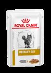 Royal Canin  Urinary S/O Feline 85 гр./Роял канин Диета для кошек при заболеваниях дистального отдела мочевыделительной системы