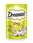 Dreamies 60гр./Дримисиз лакомые подушечки для кошек с уткой