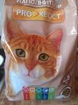 ProXвост 2,5 кг./Про Хвост древесный наполнитель для кошек