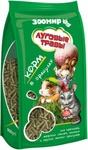 Луговые травы 500 гр./Корм в гранулах для кроликов, морских свинок, шиншилл, дегу и других мелких грызунов