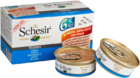 Schesir 50гр.*6 гр./Шезир консервы для кошек набор тунец