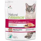 Trainer Сухой корм Natural Adult Sterilised д/взрослых кастрированных кошек с лососем 300 гр.