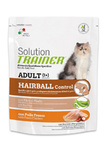 Trainer Сухой корм Solution Hairball д/взрослых кошек для выведения шерсти 300 гр.