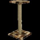 Зооник/Когтеточка сизаль, цв.мех, с полочкой большая 22329С
