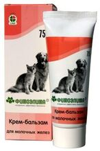 Фитаэлита//Крем-бальзам для молочных желез для кошек и собак туба 75 г