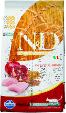 Farmina N&D Low Grain Cat Chicken & Pomegranate 1,5 кг./Фармина сухой корм для кошек Курица с гранатом