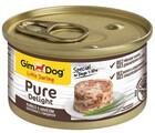 GimDog Pure Delight 85 гр./Джимдог консервы для собак из цыпленка с говядиной
