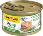 GimDog Pure Delight 85 гр./Джимдо консервы для собак из цыпленка с ягненком