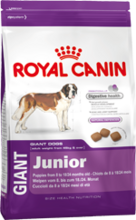 Royal Canin Giant Junior//сухой корм для щенков очень крупных размеров с 8 до 18/24 месяцев 4 кг