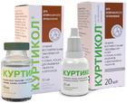 Куртикол 10 мл./Препарат для лечения воспалительных заболеваний кожи у собак, кошек, декоративных грызунов и кроликов