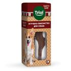 TRIOL /Игрушка-лакомство TASTY TOY для собак «Вкусная косточка» L, 171мм/12141150/