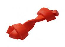 HOMEPET Игрушка для собак  косточка для чистки зубов красная каучук (79006)