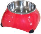 Миска SuperDesign меламиновая для собак высокая 160 мл малиновая new/16026
